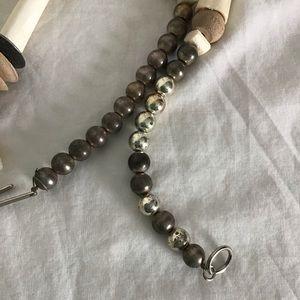 Vintage Jewelry - Vintage Tribal Ethnic Carved Bone Necklace